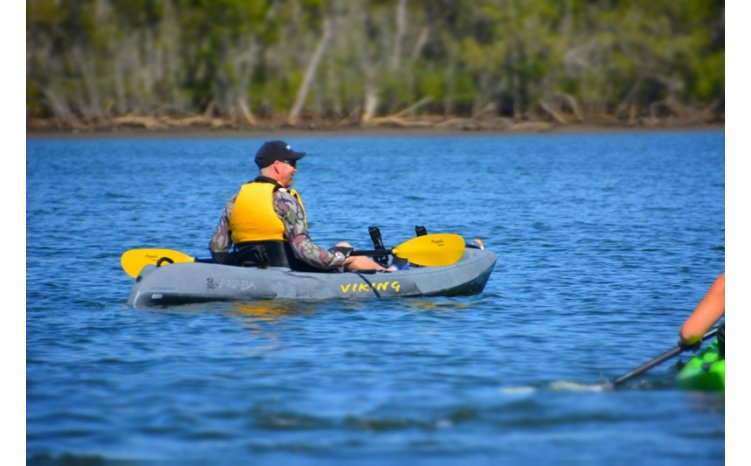 Viking kayaks australia ninja freshwater fishing kayak for Freshwater kayak fishing