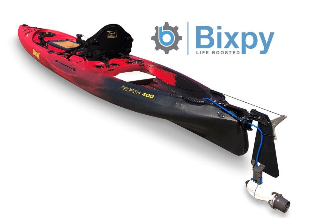 Viking Kayaks Australia - Profish 400 E - Bixpy Electric Jet
