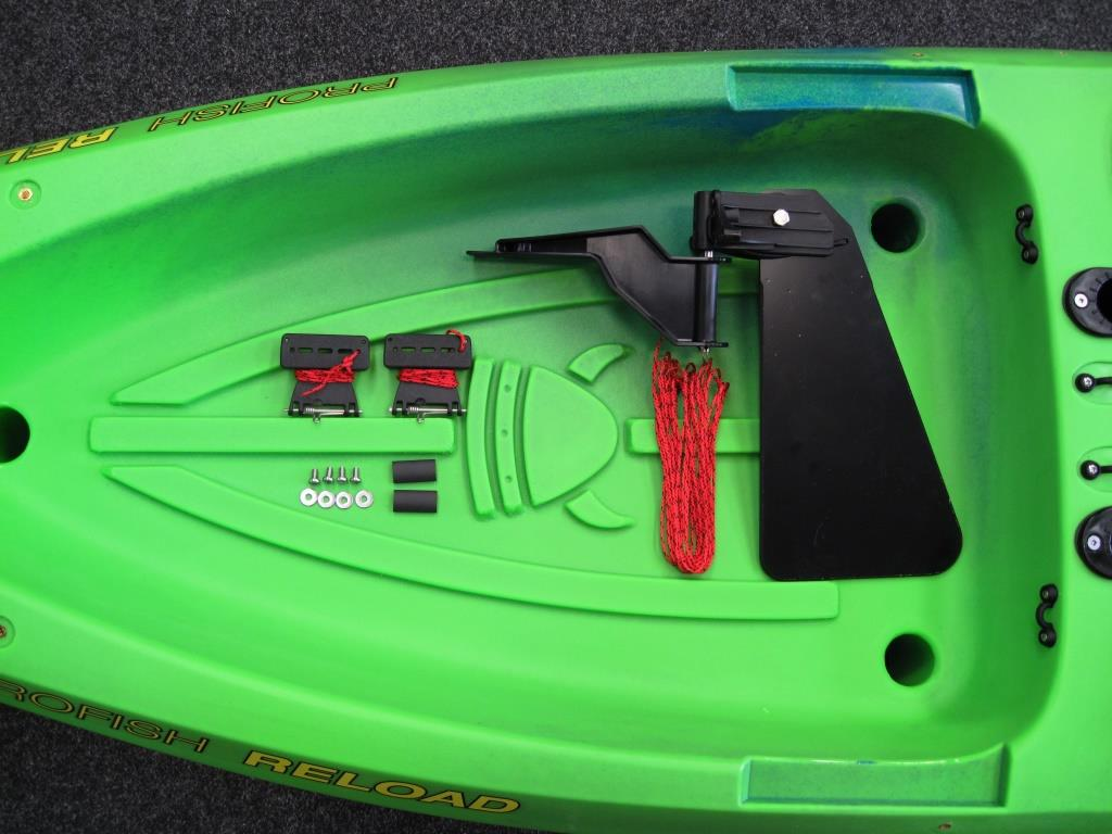 Viking Profish rudder kit parts