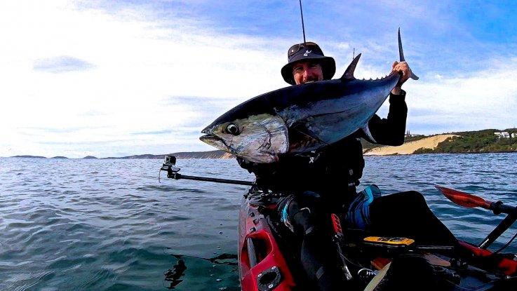 Viking Kayaks Australia - Catching Longtail Tuna