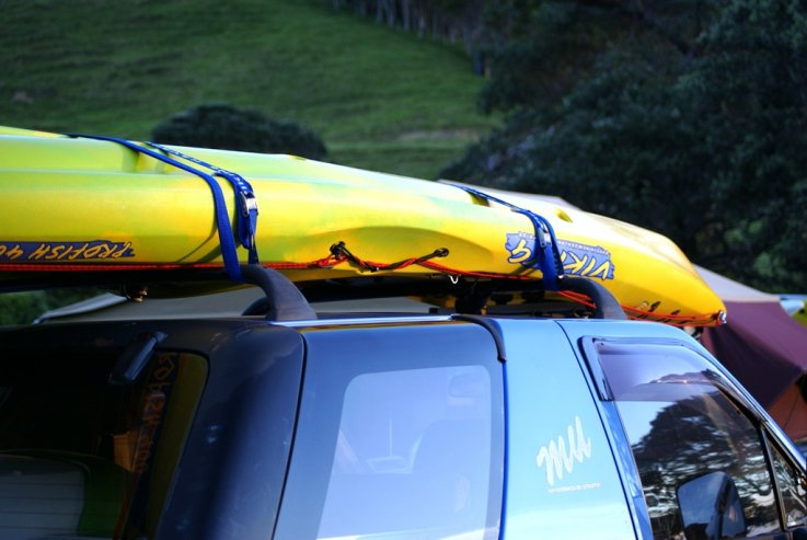 How to load & unload your kayak on roof racks