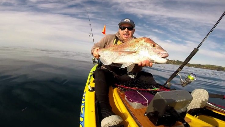 Sunday Kayak fishing session with Saltwater Assassin