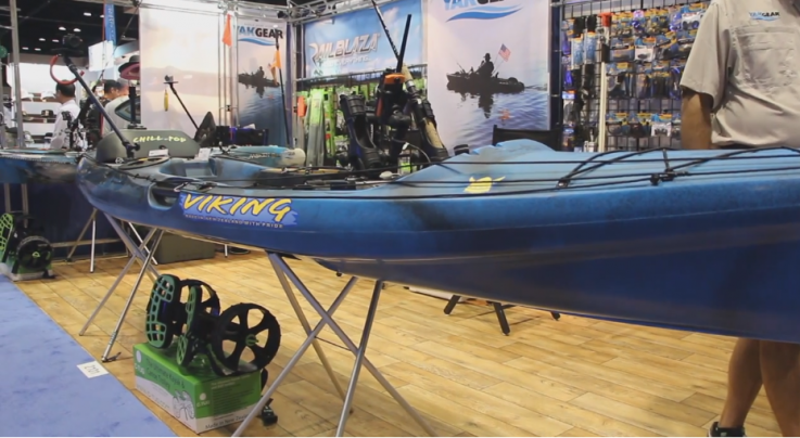 Viking Kayaks at Outdoor Retailer 2014