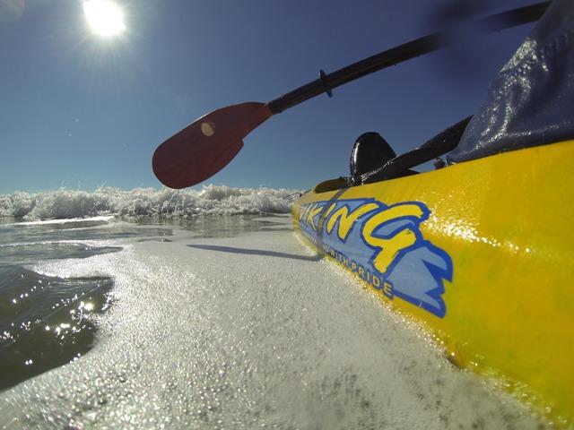 Viking kayaks australia surf launch landing guide for Best fishing kayak under 400