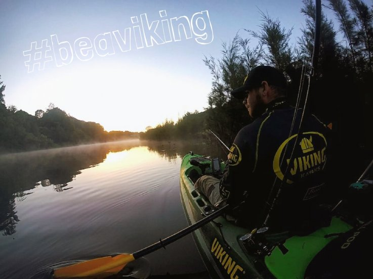 Kayak fishing & Camping - Get away from it all