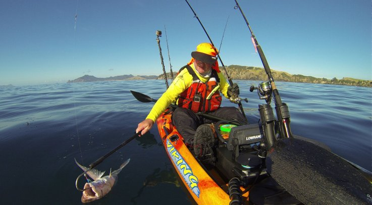 Landing fish on your kayak, Gaff, Glove, or Net?
