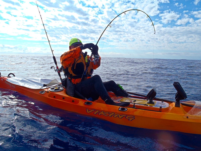 Viking Kayaks Australia - Deep water kayak fishing