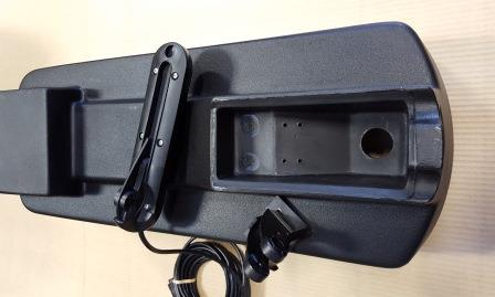 Lowrance TotalScan Transducer Mount Bracket Holes