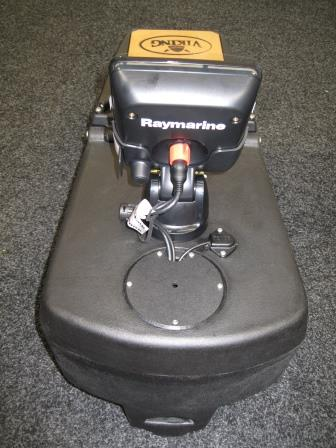 Reload Tackle Pod with sounder fitted